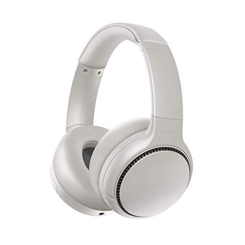 Panasonic RB-M700BE-C Bluetooth Over-Ear Kopfhörer (Noise Cancelling, Sprachsteuerung, Bass Reactor, 1,2 m Kabel, bis 20 h Akkulaufzeit), Creme