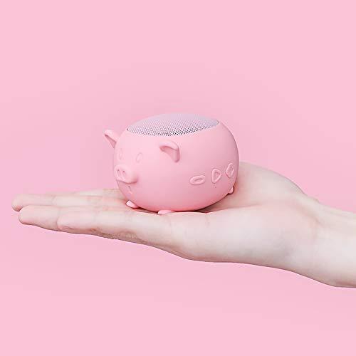 Bluetooth-Lautsprecher Niedliches Mädchen Nach Hause Mini Kleinen Subwoofer Hohe Lautstärke Surround-Plug-in-Audio Fliegendes Schwein rosa Standard
