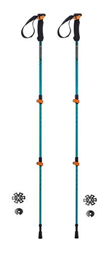 Ferrino Ultar Bastones de Senderismo Azul, 60-135 cm