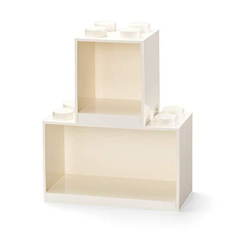 Room Copenhagen Conjunto de estantes Tipo Bloques Lego, 2 Unidades, Blanco, One Size (41171735)