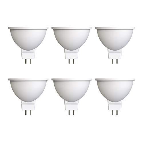 Umi par Amazon - Lot de 6ampoules spot LED MR16 GU5.3, 5W (équivalent de 35W), 15000heures, blanc chaud (2700K)