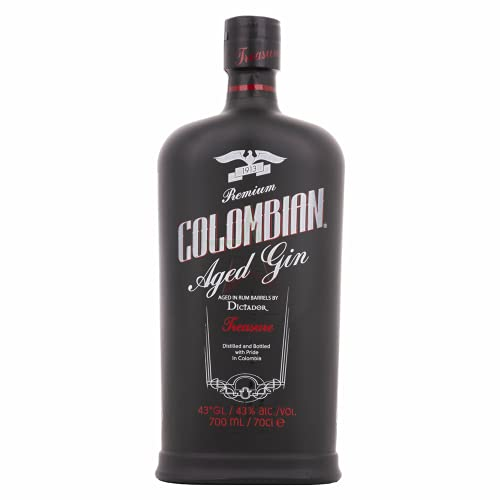 Dictador Treasure Colombian Aged Gold Gin 43,00% 0,70 Liter
