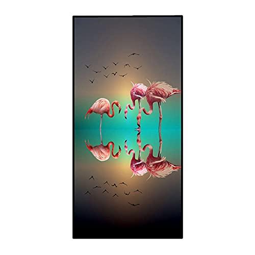 UNILIFE Toalla de Playa Toallas de Playa Flamingo Toallas de Baño Extragrande Toalla de Microfibra para Piscina Altamente Absorbente sin Arena