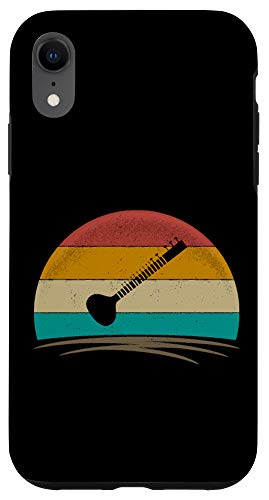 iPhone XR Sitar Retro Vintage 70s Indian Music Men Women Kids Case