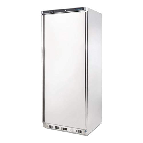 Polar-Frigorifero a porta singola in acciaio inox, 600 litri