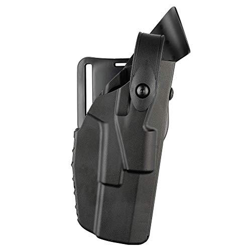 Safariland 7280 SLS, Level 2 Retention Duty Holster, Mid Ride, Fits: H&K USP 9mm.40 Compact (3.58') - Black - STX Plain, Right Hand
