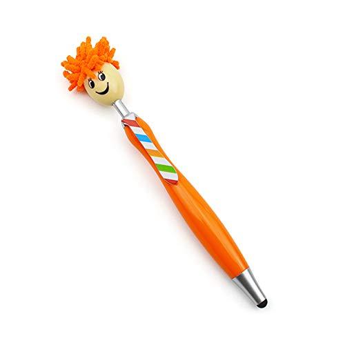 Kugelschreiber | Stifte für Kinder | Geburtstagsgeschenke | Geschenk für sie | Büro stationär - Puppenhauptschule Büro Briefpapier Touchscreen Kugelschreiber (orange)