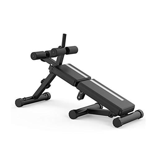 LSX - banca con Mancuernas Tablero de Sit-up Multi-función de los músculos Abdominales Equipos de Gimnasia de Plegado Completo del hogar @