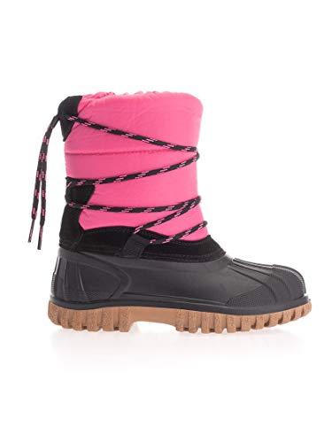 Moncler Luxury Fashion Mädchen 004950002S4F546 Rosa Gummi Stiefeletten | Herbst Winter 19