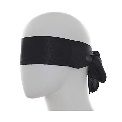 SmartRing Augenmaske aus Seide, geeignet für Sommer, kühl und bequem, guter Schattierungseffekt, zufällige Farben