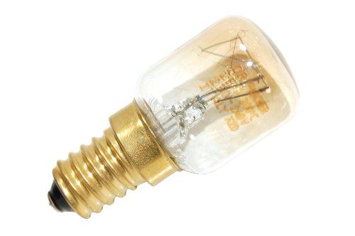 Indesit C00076978 Backofen und Herdzubehör/Leuchtmittel/Kochfeld/Original Ersatz-Backofen Lampe 25 W 220 V für Ihren Ofen