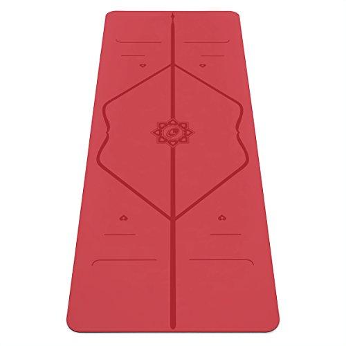 Liforme Love Yogamatte - Weltbeste Yoga Matte - Umweltfreundlich & rutschfest - Originales Einzigartiges Ausrichtungsmarkierungssystem - Biologisch abbaubare Matte aus Naturkautschuk - Sonderausgabe