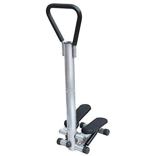 SHEHUIREN Intelligente Cyclette con Console E in Largo Pedale Mini Stepper Muto