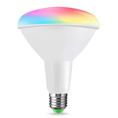 LOHAS ® 10W E27 wifi multi color Smart lampade a LED, Lavora...