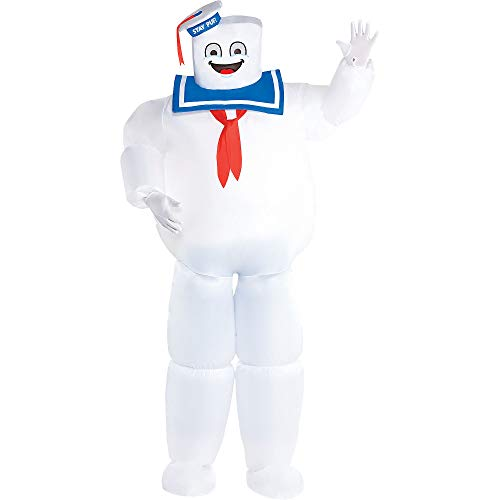 Party City Inflatable Stay Puft Marshmallow Man Halloween Costume for...