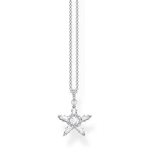 Thomas Sabo Women Silver Pendant Necklace KE1899-051-14-L45v