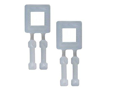12-13mm Kunststoffklammern Verschlussklammern Kunststoffschnallen Verschlussklemmen 1000 Stück