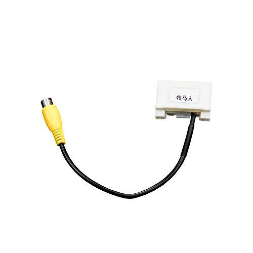 Kabelbaum-Adapter für Jeep Wrangler JK Rückfahrkamera Videoeingang Kabelbaum AV Stecker zu Display