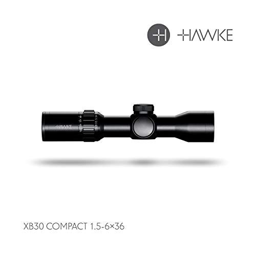 Hawke XB30 Compact 1.5-6x36 IR WA (Compact 30mm Model) SR 450fps (12226)