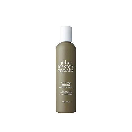john masters organics Zinc and Sage Shampoo with Conditioner,  1er Pack (1 x 236 ml)
