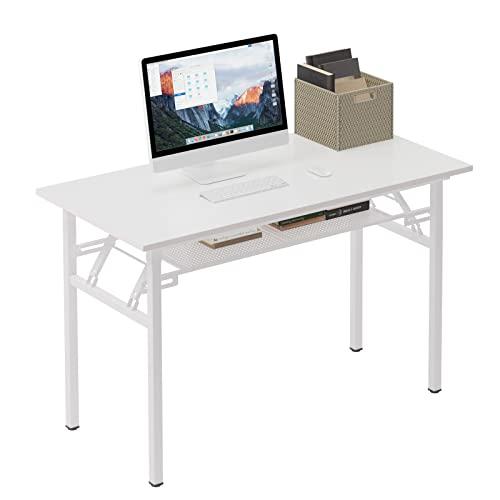 Need Tavoli Pieghevole 120x60cm Scrivanie Studio Tavoli Ufficio Postazioni di lavoro per Computer AC7DW
