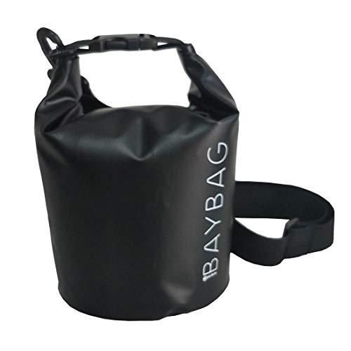 MÁS FORTY - Mochila BAYBAG BB002 - BK negra resistente al agua 5 l