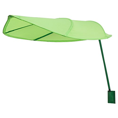 IKEA Lova Green Leaf Canopy, Perfect for Kids Room, Office Workstation, Office Desk Privacy, Classroom Reading Corner (Long Stem (Mfr. Discontinued))