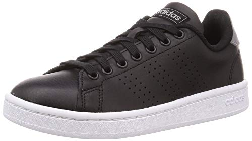 adidas Advantage, Scarpe da Ginnastica Basse Uomo, Nero (Core Black/Core Black/Grey 0), 43 1/3 EU