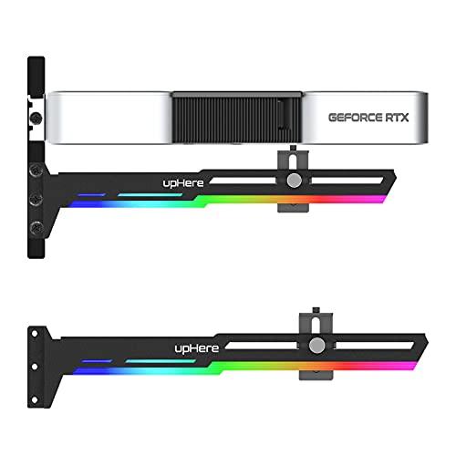 upHere GPU Brace Grafikkarte, Regenbogenfarben, verstellbar, je nach Grafikkarte für Videokarten.