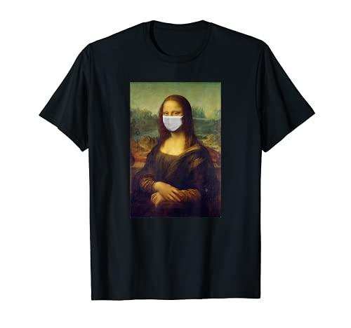 Mona Lisa - Protector bucal contra el resfriado de la gripe Camiseta