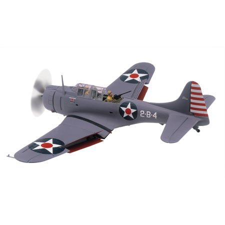 Revell- SBD Dauntless,Escala 1:48 Kit de Modelos de plástico, Multicolor (15249)