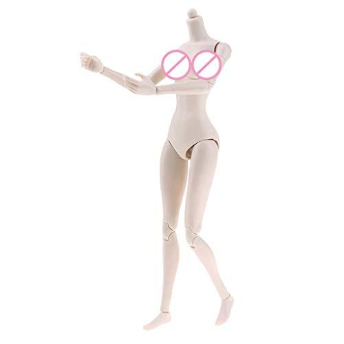 #N/A 1/12 Maßstab weibliche Actionfigur Körper Actionfiguren Spielzeug Set - Mittlere Büste, Wie Beschreibung
