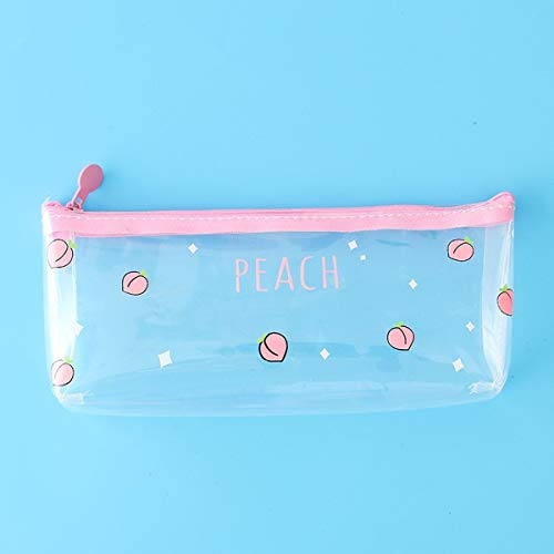 1 Piece of Student Supplies Stationery Pencil case Pencil Bag Pencil Bag Gift School Pencil case (A)