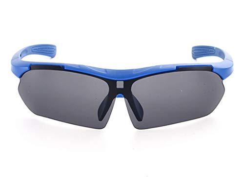 Blisfille Gafas Proteccion Frontenis Gafas Moto Custom Hombre,Azul