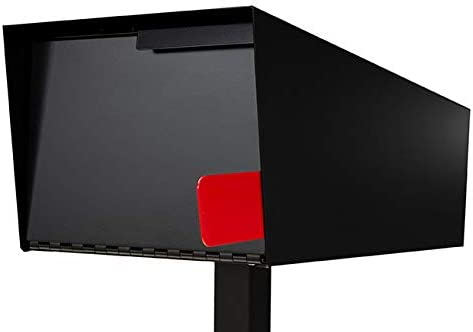 Locking Modern Mailbox Post Mount Our shop OFFers the best New item service Black with