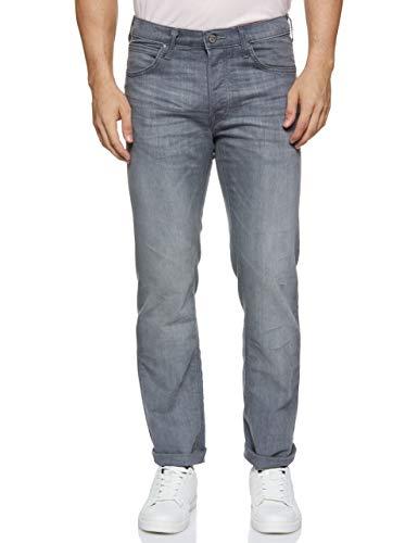 Lee Herren Daren Button Fly Jeans, Grau (Storm Grey CQ), 33W / 34L