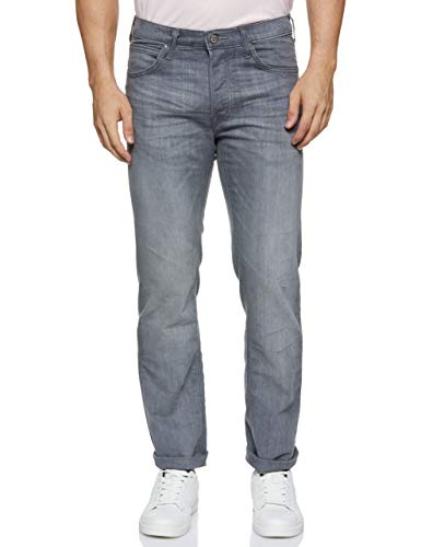 Lee Herren Daren Button Fly Jeans, Grau (Storm Grey CQ), 33W / 34L