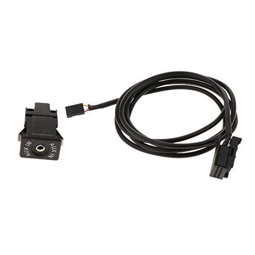 non-brand AUX Verbindungskabel Bluetooth Adapter,12 pin auf 4 Pin Adapter, perfekt für Opel CD30 CD70 DVD90 NAVI CDC40 Vauxhall