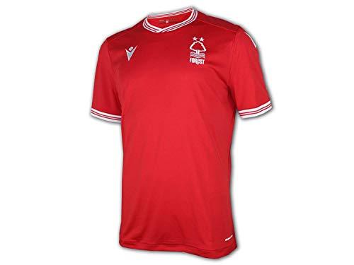 Macron Nottingham Forest Heim Trikot 20 21 rot NFFC Home Shirt Fan Jersey, Größe:M