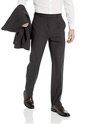 Chaps Men's All American Classic Fit Suit Separate Pant , Charcoal, 38W x 30L