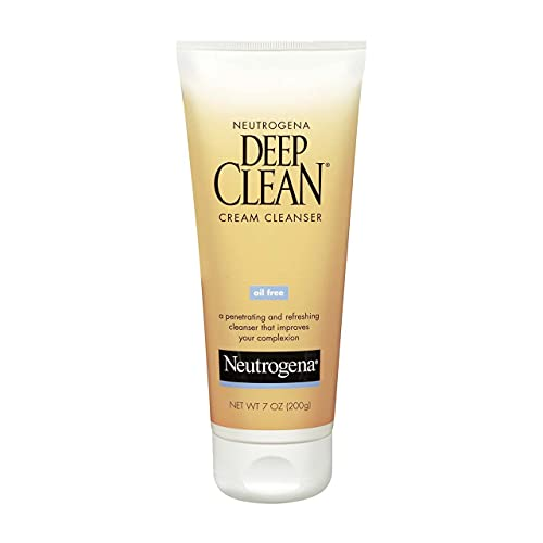 Neutrogena Deep Clean Cream Cleanser 7 oz ( Pack of 4)