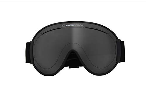 Momo Design Goggle Falcon Nero Chrome, Unisex