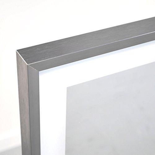 Infrarot Spiegelheizung mit Licht VASNER Zipris S LED mit Chrom-Rahmen 900 Watt Bad Bild 4*