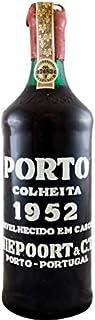 Niepoort Colheita Port 1952 in einer mit Seide ausgestatetten Geschenkbox. Da zu vier Wein Zubehör, Korkenzieher ,Giesser ,Kapselabschneider ,Weinthermometer .