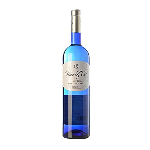 Vino Blanco Lacrima Baccus Mar&Cel Blanc de Blancs de 75 cl - D.O. Penedes - Bardinet (Pack de 1 botella)