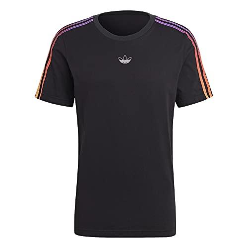 adidas Sport 3 Stripes - Camiseta Negro/Multi L