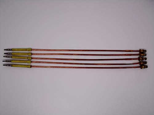 ALGAN Thermoelement für Potis Gyrosgrill Dönergrill Dönermaschine ø 5mm Länge 330mm M8x1 5er Pack