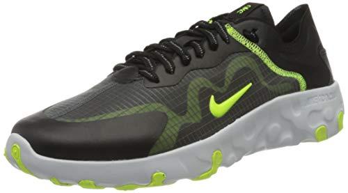 Nike Renew Lucent, Zapatillas Hombre, Negro (Black/Volt/Pure Platinum/Dark 105), 45 EU