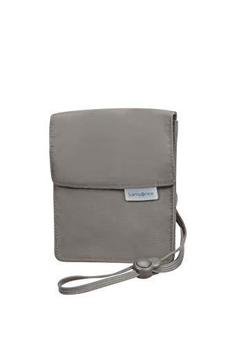 Samsonite Global Travel Accessories - RFID Brustbeutel, 14 cm, Grau (Eclipse Grey)