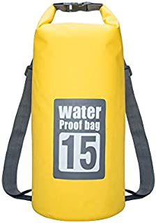 15L Swimming Waterproof Bags Storage Dry Sack Bag For Canoe Kayak Rafting Outdoor Sport travel Bags